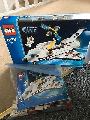 Lego City 3367 Space Shuttle Includes Instructions Mini Figure