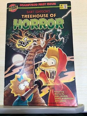 Bart Simpsons Treehouse of Horror #1 : Bongo Comics