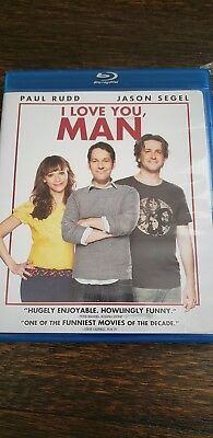 I love you Man Blu-ray only Free Shipping A18