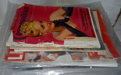 Lot of ~24~ Vintage Assorted MagazIne/Magazines~Look/Life/Colliers 1940-1960