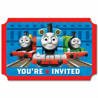 Thomas And Friends Birthday Party Invitations 16 Count Save The Date