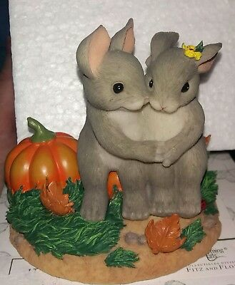 Charming Tails It's Snuggl'in Weather Figurine