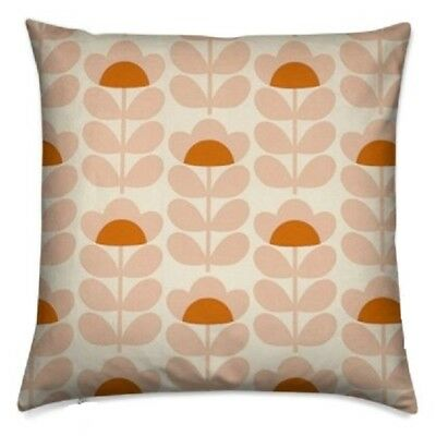 handmade cushion cover using Orla Kiely Fabric sweetpea sweet pea 16 inch 40cm