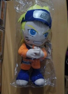 "New Naruto w/ Blue Headband 9""  Plush Doll Anime Great Eastern Entertainment"