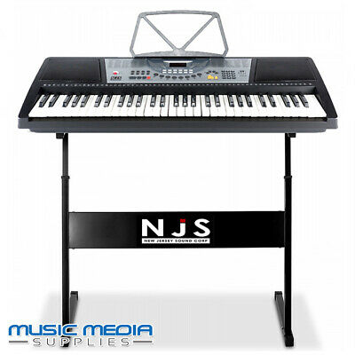 61 Full Size Keys Electronic Digital Music Keyboard with Stand 100 instruments