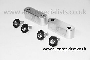 AutoSpecialists Bonnet Spacer Blocks for MK2 Ford Focus inc RS & ST225