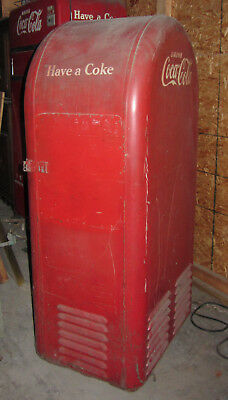 VINTAGE 1940's - 50's orig. F.L Jacobs Coca Cola Machine - Cools