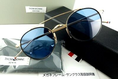 c87f1cd00b05 Japan 54 sunglasses Thom Browne Round Frame 12K Gold master craftsmanship