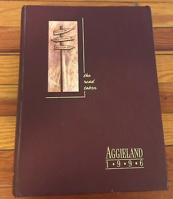 Aggieland 1996 Yearbook Texas A & M University, College Station Texas