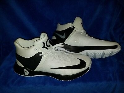 be321518816f Nike KD Trey 5 IV TB Promo Basketball Shoes White Black 856484-100 Men s