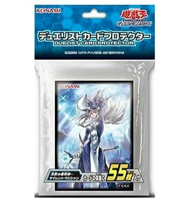 Yugioh Japanese Official Card Sleeve Silent Magician KONAMI From Japan