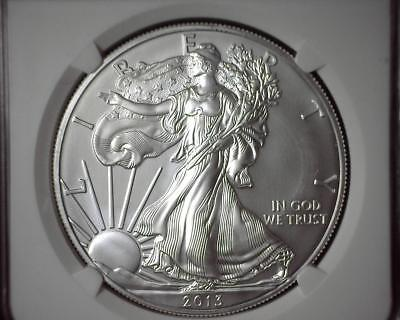 2013-S American Silver Eagle NGC MS 69 Early Releases 3695203-170