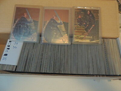 Star Wars Topps Finest 1996 Chromium Card Lot 1 Near Set (-5) And 350+  Extras