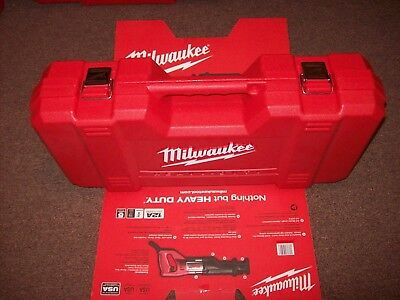 Milwaukee 6509-31 Sawzall HEAVY DUTY Case will fit CORDLESS! saws CASE ONLY!