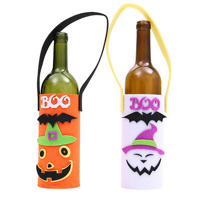 Halloween Cloth Funny Wine Bottle Bag Pumpkin Ornament Bag Party decoration