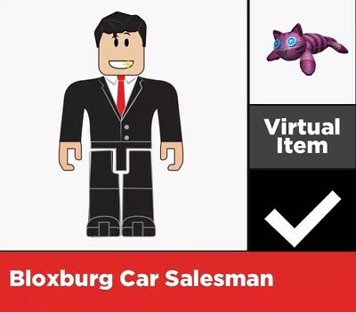 Bloxburg Car Salesman Virtual Code - ROBLOX Virtual Game Code Only