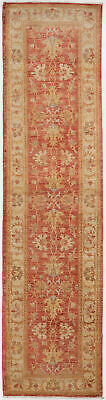 Traditional Oriental Runner Area Rug Red/Beige Color Hand Knotted Rug (2 x 8)