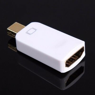 New Mini DP DisplayPort Male to HDMI Female Adapter For MacBook Mac Pro Air