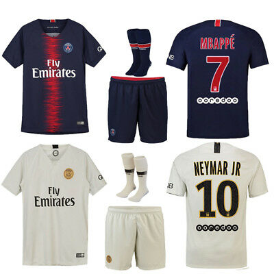 18/19 Soccer Jersey Football Suits Training Kits Shorts For Kids Adults Youth