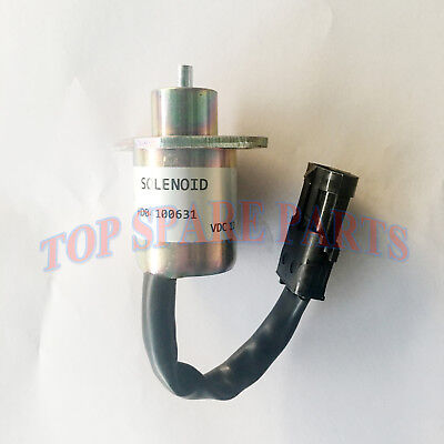 New Stop Solenoid 2848A279 for Perkins 700 Series Engine Generator 12V