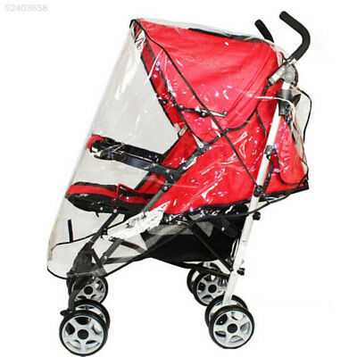 A542 Baby Universal Waterproof Stroller Rain Cover Wind Dust Shield Pushchair Co