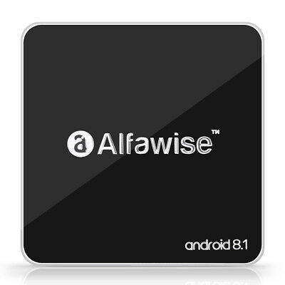 Alfawise A8 TV BOX RK3229 Quad Core Android 8.1 2GB+ 16GB 2.4G WiFi HD 4K H.265