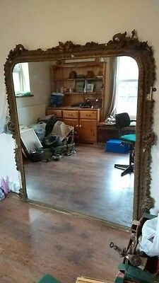 Large antique french mirror 19 c ?