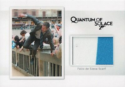 James Bond Archives 2017 - Scarf Relic Card MR7 #186/200