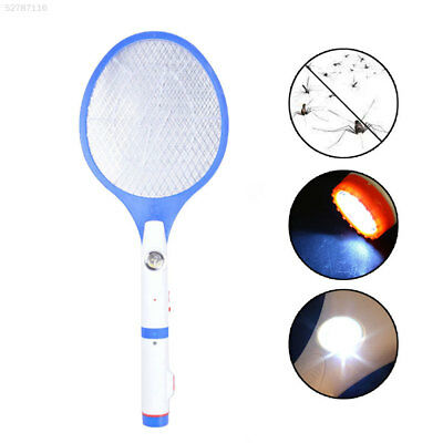 8F3E LED Rechargeable Electric Swatter Insect Bug Bat Wasp Zapper Fly Mosquito K