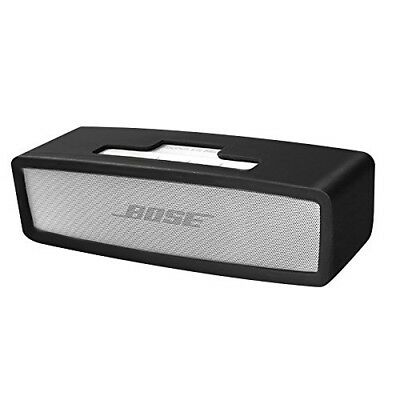 (Black) - Soundlink Mini Case, Soft Travel Carrying Case Silicone Protective