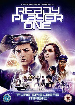 Ready Player One [2018] DVD - New & Sealed Region 2