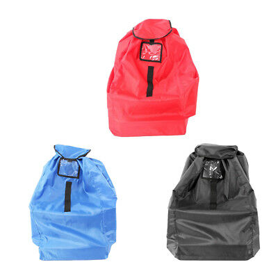 Baby Kids Car Seat Travel Bag Cover for Airplane Gate Check Bag Pouch Portable