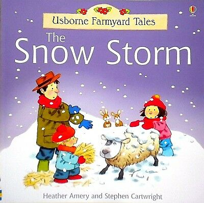 The Snow Storm, Children's Storybook, Usborne Farmyard Tales, Picture Book, New