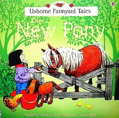 New Pony, Children's Picture Book, Storybook, Usborne Farmyard Tales, New