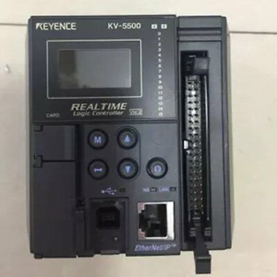 Used 1Pc Keyence KV-5500 Realtime Logic Controller Tested Good Condition  #PA