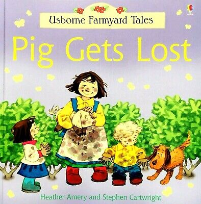 Pig Gets Lost, Usborne Farmyard Tales, Children's Storybook, Picture Book, New