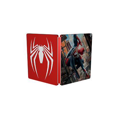 Marvel SPIDER-MAN  Steelbook Case (No game included)  Brand NEW!