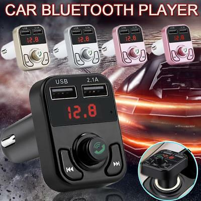 B3 Bluetooth Handsfree Wireless Car FM Transmitter MP3 Player & USB Charger Kit