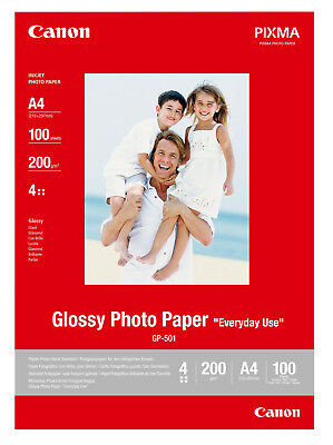 Canon Glossy A4 Photo Paper - 100 Sheets