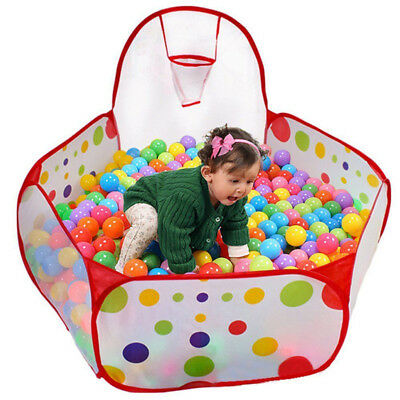 Portable Play Tent Baby Indoor Kids Children Ball Pit Pool Outdoor Game Toy