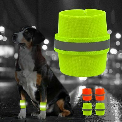 PetArtist® 2pcs/Set Reflective Wrist Band For Dog Pets Safety Leg Wraps Glow