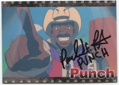 Paul St Peter Punch Cowboy Bebop Signed Japanese Card #04 Auto Big Shot