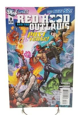 Red Hood & the Outlaws #3 New 52 Volume 1 January 2012 DC Comics Past Tense