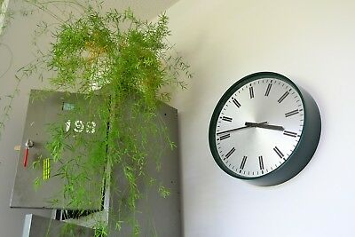 Vintage F.W.Elliott Ministry of Defence Wall Clock - Industrial Office Wind-Up