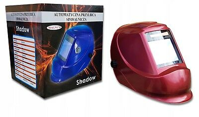 Magnum Turbo Red SHADOW Auto Darkening Welding Helmet Mask Grinding
