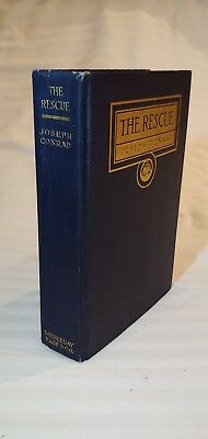 "1920 Joseph Conrad ""The Rescue- A Romance of the Shallows""  Doubleday, Page & Co"