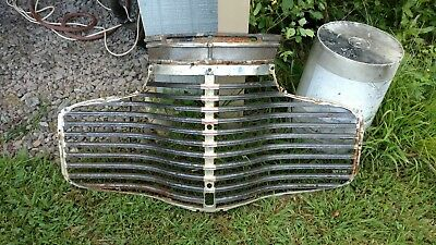 1941 CHEVROLET CAR GRILLE , and panel