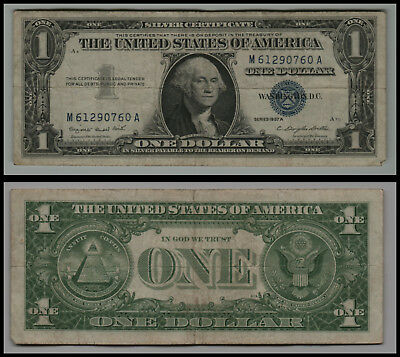 1957A $1 Great Silver Certificate Blue Seal V220
