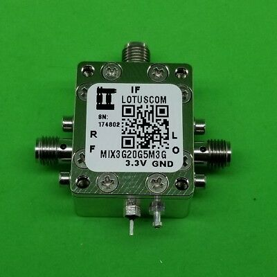 Frequency Mixer 3GHz to 20GHz RF and 4.5M - 3G IF (LTC5552)