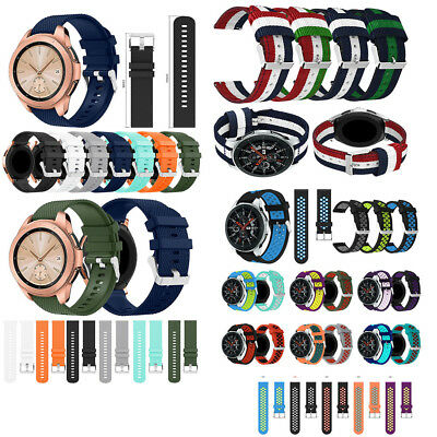 For Samsung Galaxy 42/46mm Silicone Replace Watch Strap band Bracelet Accessory